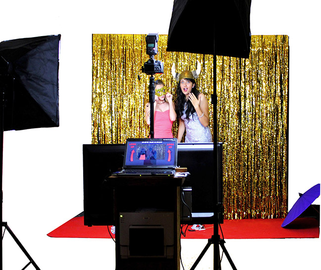 Red Carpet Step and Repeat Photo Booth Shoot