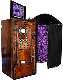 Victorian Steampunk Photo Booth Picture