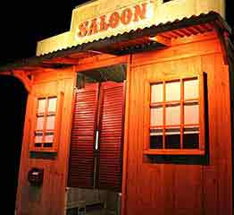 Rustic Country Western Saloon Photo Booth