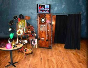 Steampunk Photo Booth Rental In Kansas City.