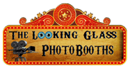 photo booth rental site logo image
