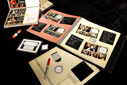 Custom Memory Books For Wedding Photo Booth Rentals
