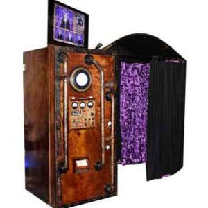vintage rustic steampunk photo booth