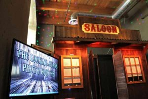 Our Rustic Western Saloon Photo Booth At A Kansas City Wedding.