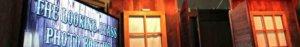 rustic western saloon photo booth rental header