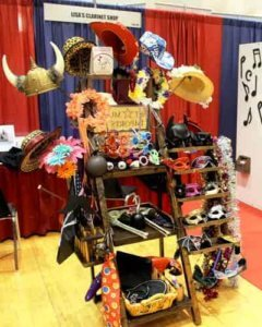 Free Photo Booth Hat Rack And Prop Stand