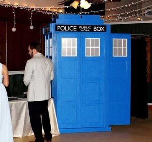 Our Tardis Police Box Photo Booth Rental.