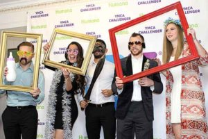 YMCA fashion show charity photo booth rental